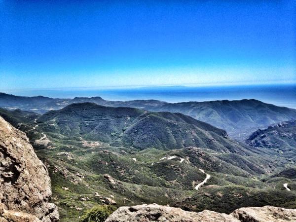 View from Sandstone Peak