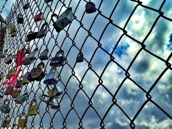 Make a promise to yourself? A lifelong bond with someone? Lock it up!