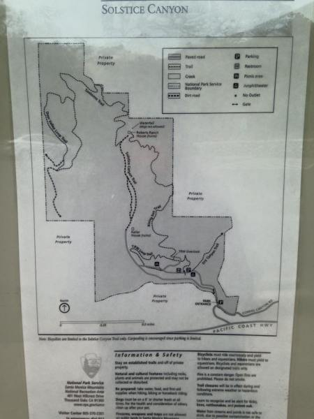 Map of all the trails